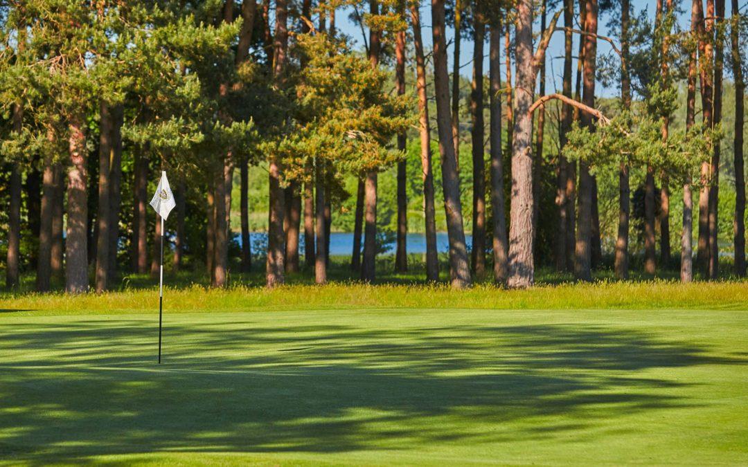2nd Hole Flempton Golf Course
