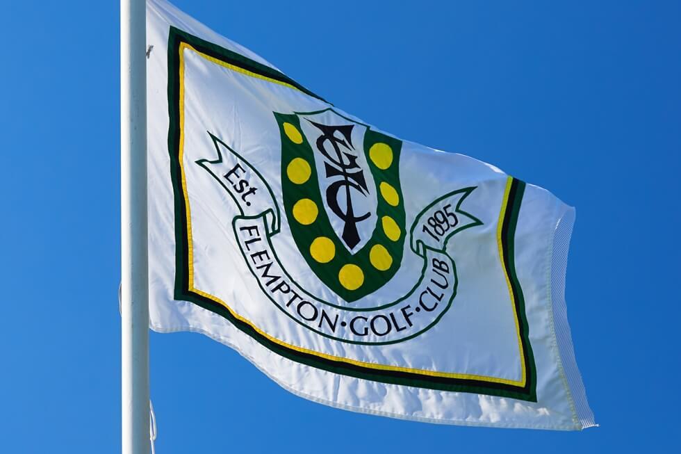Flempton Golf Club Flag Blue-sky
